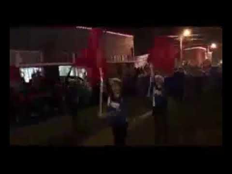 Neshoba Central Middle School Band christmas parade