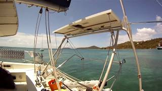 Catana 39 Cruising Catamaran Interior View