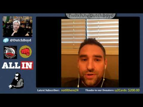 Interview with Brandon Cantu after PokerNight Choctaw
