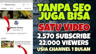 2000 Subscribers GRATIS Tanpa SEO terbaru 2021