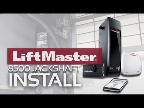 """BEST GARAGE UPGRADE /// New Liftmaster 8500W Sidemount """"Jack Shaft"""" Garage Door Opener & Pot Lights"""
