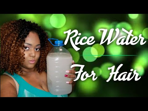 Rice Water For Hair Growth And  Rice Water For Skin Care thumbnail