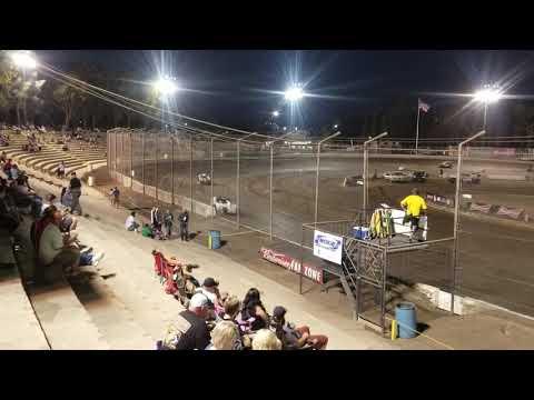 Bakersfield Speedway September 29,2018 western Modlites heat race 1