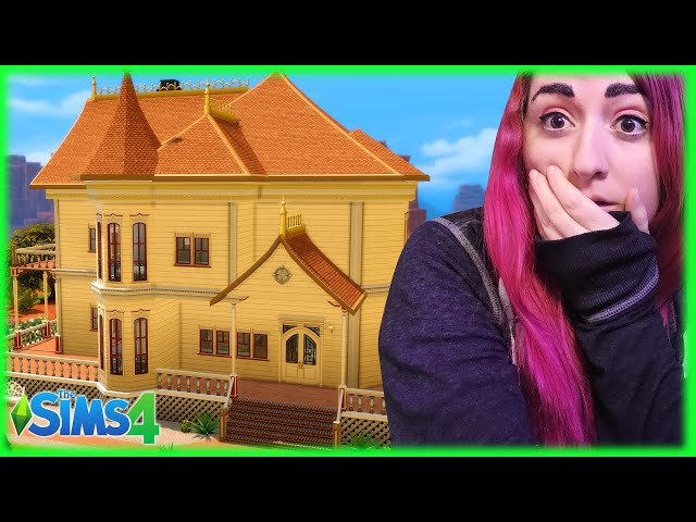 Can I Renovate this Strangerville Mansion in Just 10 Minutes? // Sims 4 Build Challenge