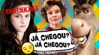 7 PERSONAGENS mais IRRITANTES do CINEMA! 👻🤬
