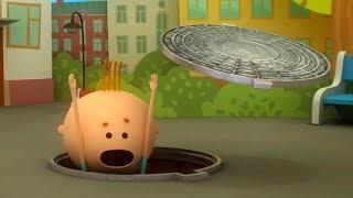 Аркадий Паровозов - Почему опасно наступать на открытый канализационный люк? - мультфильм детям