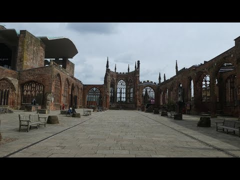 Coventry, West Midlands, UK Travel Video 4K