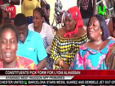 Ayawaso West Wuogon Primaries: Constituents Pick Form For Lydia Alhassan