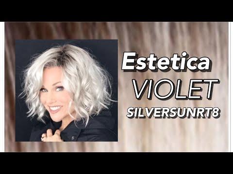 Estetica VIOLET Wig Review | SILVERSUNRT8 | BOLD & Beautiful!