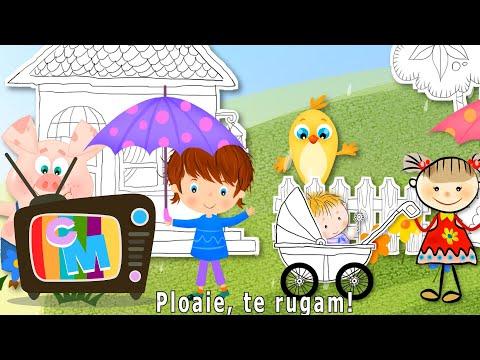 Cantec nou: Ploaie, te rugam!  Clopotelul Magic – Cantece pentru copii