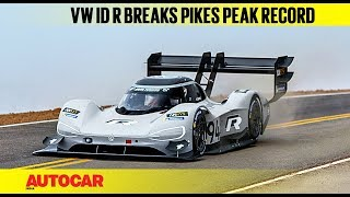 Volkswagen ID R Breaks Pikes Peak Record | Autocar India