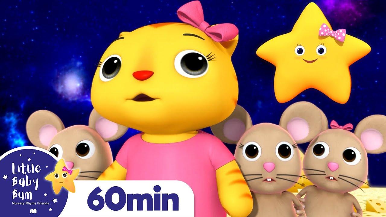 Twinkle Twinkle Little Star +More Nursery Rhymes and Kids Songs | Little Baby Bum