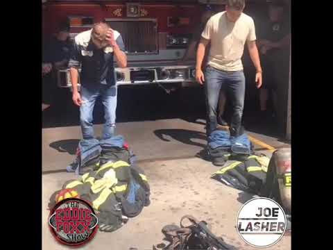 The Eddie Foxx Show - Newfound Respect For Firefighters!