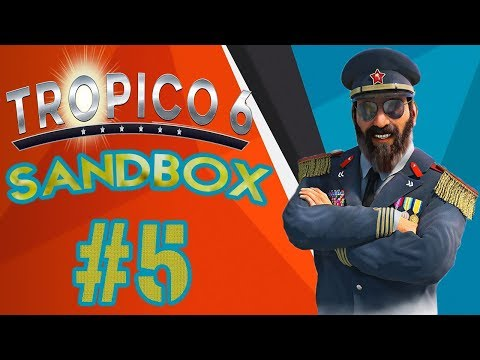 Tropico 6 Ep.5- Learning the Tropico 6 Economy (Tropico 6 Sandbox Full Game) |