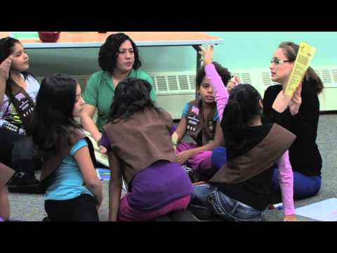 Christmas girl scout meeting ideas