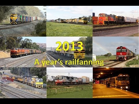 Trackside: Railfanning compilation 2013 part 1