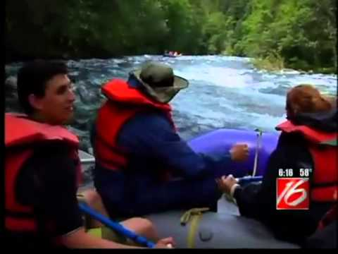 All in a Day's Drive | River Rafting on the McKenzie River | Near Eugene Oregon