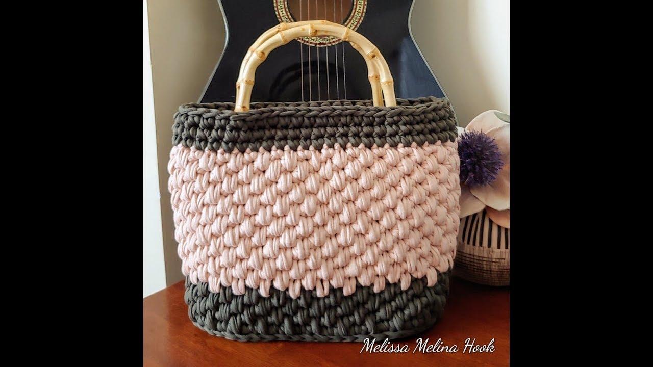 crochet sac a main point osier 1