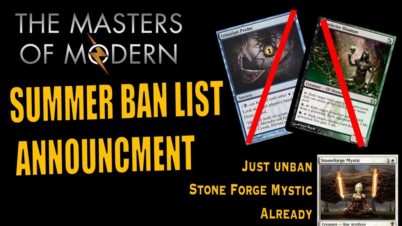 Stoneforge Mystic STAYS BANNED & Ancient Stirrings Continues its Rampage!
