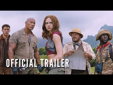 JUMANJI: WELCOME TO THE JUNGLE (OFFICIAL TRAILER)