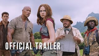JUMANJI: WELCOME TO THE JUNGLE (OFFICIAL TRAILER) by : The Rock