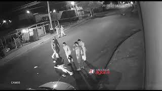 Câmera flagra atropelamento no Aracy II; moradores pedem instalação de lombada