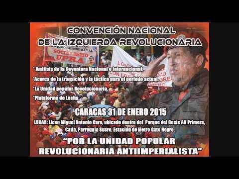 Invitación a la Convención nacional de la izquierda revolucionaria