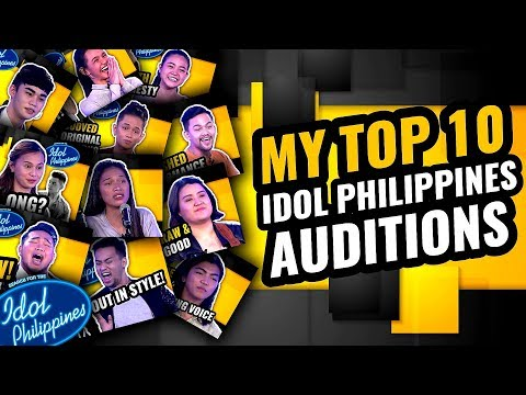 My Top 10 Idol Philippines 2019 Auditions