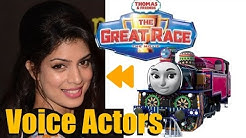 """Thomas & Friends: The Great Race"" Voice Actors and Characters"