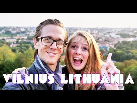 24 HRS in Vilnius Lithuania! - Vilnius Lithuania Travel Guide