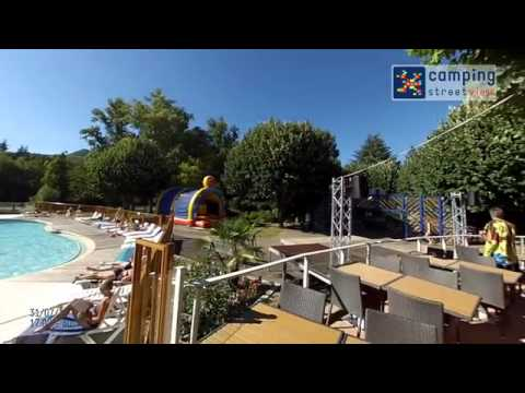 camping streetview camp ole millau plage youtube. Black Bedroom Furniture Sets. Home Design Ideas