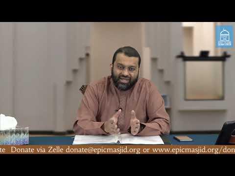 Reality of Sin | Sisters Halaqa | Shaykh Dr. Yasir Qadhi