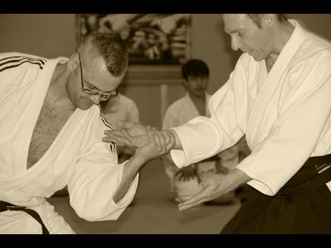 Jacques Payet Sensei (7 dan Yoshinkan Aikido). Russia, Novosibirsk 2014.