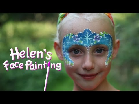 Face Painting Frozen Elsa Frozen Face Paint Tutorial