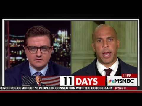 Sen. Cory Booker Opposes Jeff Sessions For AG