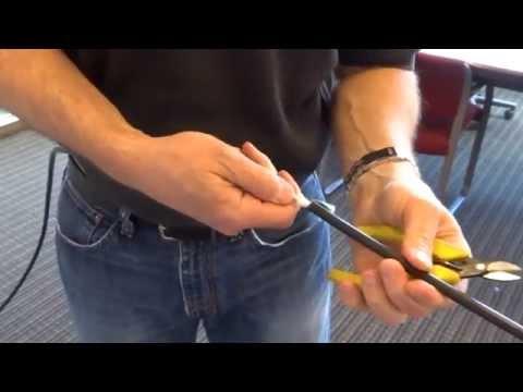 Technical Video: Access Procedure for Fiber Drop Cable FTTP