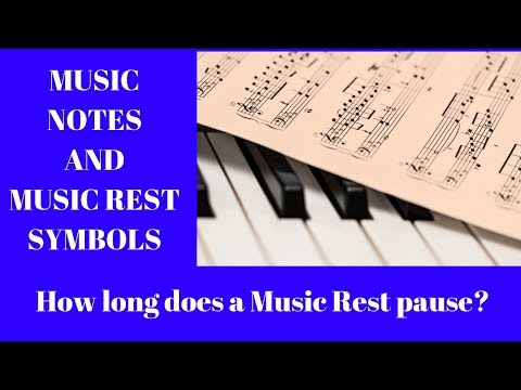 Half Notes and Half Rests in Music Free Video Tutorial Lesson