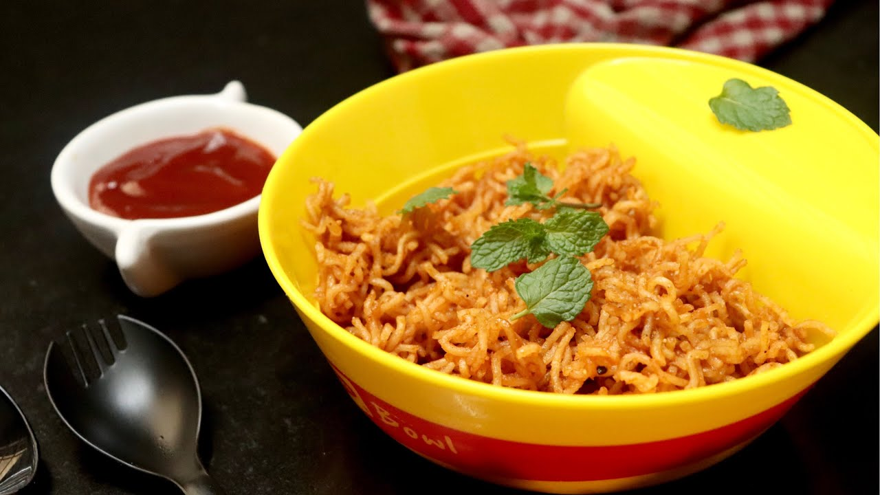 Fried masala maggi recipe | fried maggi in snacks | how to make fried maggi recipe