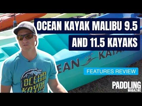 Ocean Kayak Malibu 9 5 and 11 5 Kayaks   Boat Preview