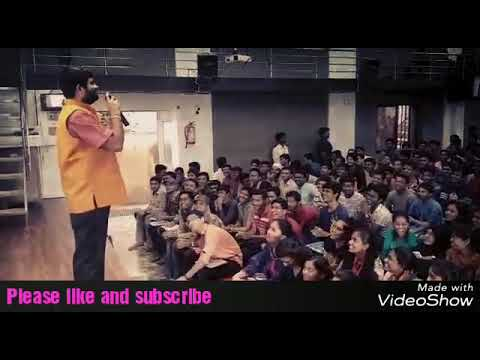 Rcc Latur  bagal sir singing song in class with m. Sir