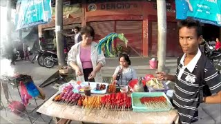 Roadside BBQ in Bacong, Negros Oriental - Phiippines