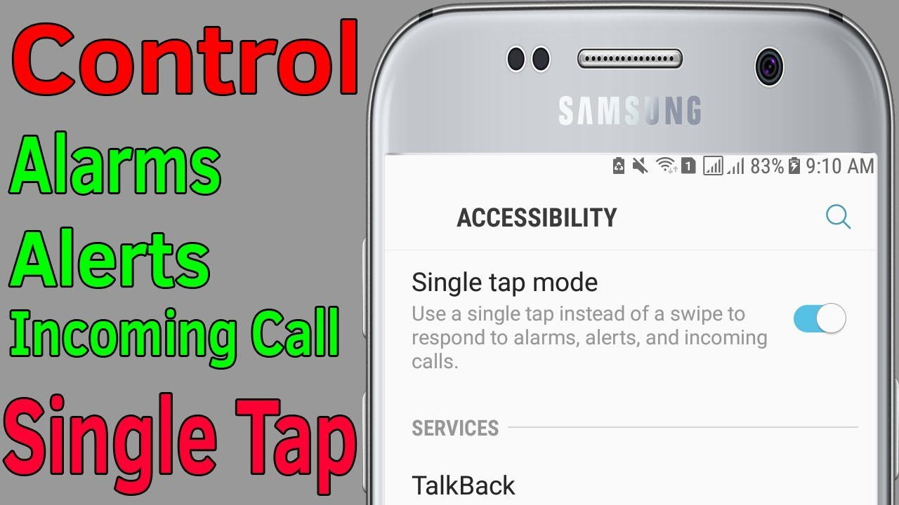 Single Tap Mode : How To Enable Single Tap Mode On Samsung Galaxy  J7/S7/S8/S9/N8/N9 #HelpingMind
