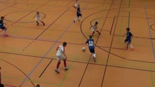 U12 Jhg2005 TSG 1899 Hoffenheim - FC Augsburg 1:0; Hallencup Rheinsüd Köln 14.01.2017