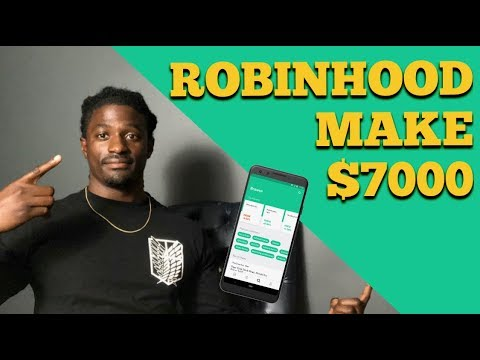 How I Made $7000 Investment On Robinhood - Dividend Portfolio