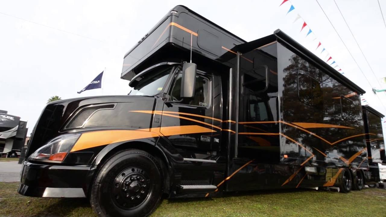 2016 Haulmark Motorcoach 45db Exterior Tour Amp Volvo