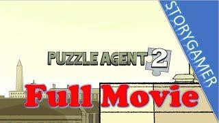 Puzzle Agent 2 Game Movie All Cutscenes