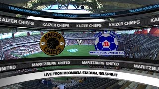 Telkom Knockout | SF 2 | Kaizer Chiefs v Maritzburg United | Highlights