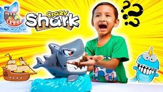 Buka Mainan Hiu Galak Bisa Menggigit - Mainan Berfaedah Crazy Shark Kiddy Fun