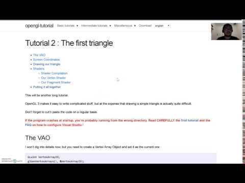 Download OpenGL Tutorial 2 - The First Triangle