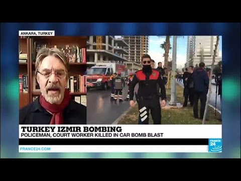 Turkey: a policeman and a court worker killed in Izmir car bomb, 2 attackers shot dead
